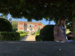 Lecture au Palais de la Fronteira Lisbonne