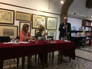 Rencontre Lidia Jorge et monsieur Ferin, librairie Ferin Lisbonne
